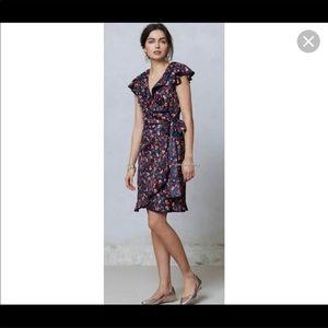 Anthropologie Dress. Cheery Dress-Size 0.